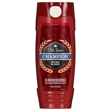 Old Spice Red Zone Men's Body Wash Champion