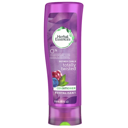 Herbal Essences Totally Twisted Conditioner for Curls and Waves Wild Cherry Twist & Jewel Orchid