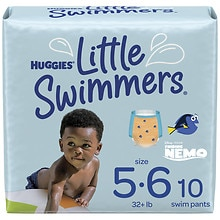 Huggies Little Swimmers Disposable Swimpants, Unisex Large