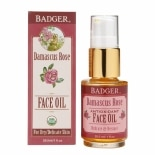 Badger Antioxidant Face OilDamascus Rose