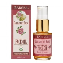 Badger Antioxidant Face Oil Damascus Rose