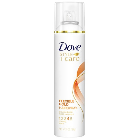 Dove STYLE+care Hairspray, Strength & Shine, Flexible Hold