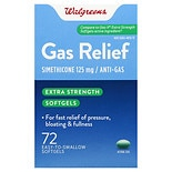 Walgreens Gas Relief Softgels Extra Strength