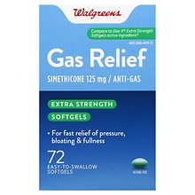 Gas Relief Softgels, Extra Strength