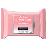 Neutrogena Oil-Free Cleansing Wipes Pink Grapefruit Pink Grapefruit