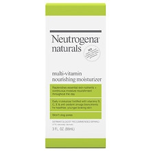 Neutrogena Naturals Multivitamin Nourishing Moisturizer Lotion