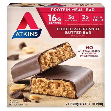 Atkins Advantage Meal Bars Chocolate Peanut Butter