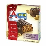 Atkins Advantage Meal Bars, 5 Peanut Fudge Granola