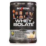 Six Star Elite Series Whey Isolate Dietary Supplement Powder French Vanilla Cream