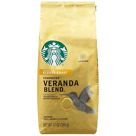 Starbucks Coffee Blonde Ground Coffee Veranda Blend