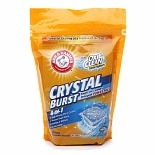 Arm & Hammer Crystal Burst Single Use Laundry Detergent Power Paks