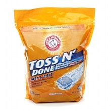 Toss n' Done Single Use Laundry Detergent Power Paks