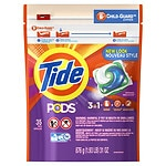 Online Coupon: Click & save $2 on one Tide PODS or Gain Flings