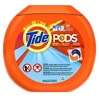 Save up to 40% on Tide laundry detergent.
