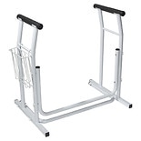 Drive Medical RTL12079 Toilet Safety Rail, Stand Alone