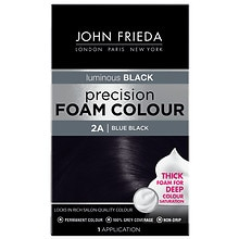 John Frieda Precision Foam Color Permanent Hair Colour Blue Black 2A