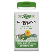 Nature's Way Dandelion Root, Veggie Capsules