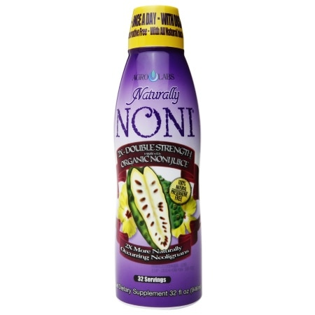 Agrolabs Naturally Noni Organic Dietary Supplement Juice