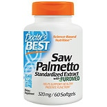 Doctor's Best Best Saw Palmetto 320 mg, Softgels