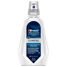 Crest Pro-Health Clinical Care Pro Clean Antigingivitis/Antiplaque Oral Rinse Deep Clean Mint