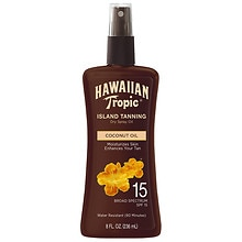 Hawaiian Tropic Protective Dry Oil Sunscreen Spray SPF 15