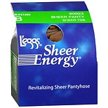 L'eggs Sheer Energy Revitalizing Sheer Toe Sheer Panty B Suntan