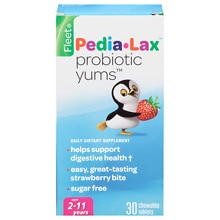 Fleet Children's Pedia-Lax Probiotic Yums Dietary Supplement Chewable Tablets