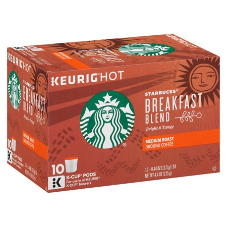 Starbucks K-Cups Breakfast Blend