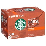 Starbucks Coffee Medium Roast Ground Coffee K-Cups House Blend