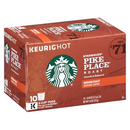 Starbucks Pike Place Roast K-Cups