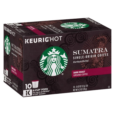 Starbucks K-Cups Sumatra Dark