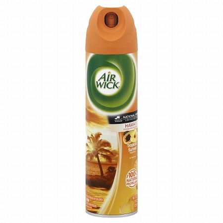 Air Wick National Park Series Aerosol Air Freshener Hawaii Kaloko, Honokohau Tropical Sunset