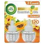 wag-Scented Oils, Limited Edition National Park Series Twin Refill Hawai'i Kaloko, Honokohau Tropical Sunset