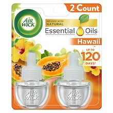 Air Wick Scented Oils, Limited Edition National Park Series Twin Refill Hawai'i Kaloko, Honokohau Tropical Sunset