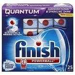 Finish Quantum?Dishwasher?Detergent?with Baking Soda