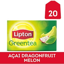 Lipton Green Tea Bags Dragonfruit Melon