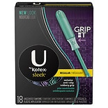 U by Kotex Sleek Tampons Regular 18ct. Regular, 18s Regular, 18s