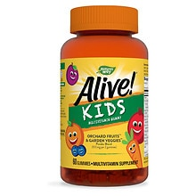 Nature's Way Alive! Multivitamin for Children Dietary Supplement Gummies