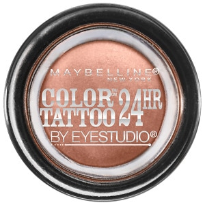 Maybelline EyeStudio Color Tattoo 24Hr Eyeshadow, Bad to The Bronze