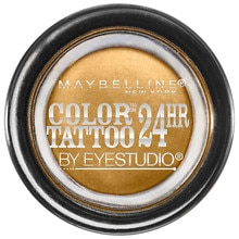 Maybelline EyeStudio Color Tattoo Eyeshadow Bold Gold