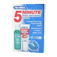 Plus White 5 Minute Speed Whitening System for Teeth