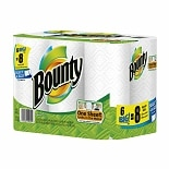 Bounty Big Rolls, Select-a-Size Paper Towels, White