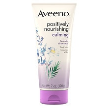 Aveeno Active Naturals Positively Nourishing Body Lotion Calming Lavender + Chamomile