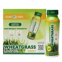 Agrolabs Wheat Grass Boost Liquid Dietary Supplement 6 Pack