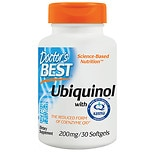 Doctor's Best Best Ubiquinol Featuring Kaneka's QH, 200mg, Softgels