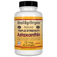 Astaxanthin 12mg Triple Strength, Softgels