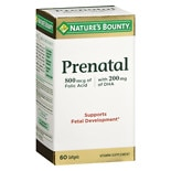 Nature's Bounty Your Life Prenatal Multivitamin, Softgels