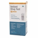 Instant Multi Drug Test Kit, 12 Drugs (7 Illicit + 5 Prescription)