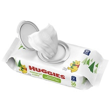 Huggies Natural Care Baby Wipes, Soft Pack Fragrance Free