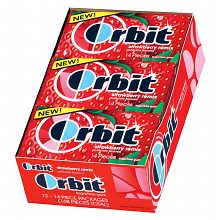 Orbit Sugar Free Gum Strawberry Remix